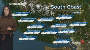 B.C. evening weather forecast: Jan 20