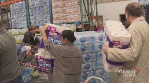 'People are buying toilet paper like it's going out of style': Calgarians stock up amid coronavirus concerns