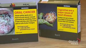 Dalhousie researcher awarded for cigarette packaging research