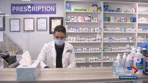 3 Calgary pharmacies robbed over Family Day long weekend (02:17)