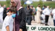 Play video: Hundreds pay respects at funeral for Muslim family killed in London, Ontario attack