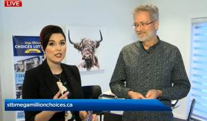 Global's Kahla Evans talks to Dr. Ian Dixon live at the St. Boniface Hospital Mega Million Choices Lottery