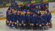 Play video: Saskatoon Blades heading home after 2 months in the WHL bubble