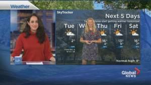 Global News Morning weather forecast: Tuesday, November 3, 2020 (02:05)