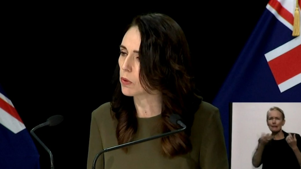 Click to play video 'Coronavirus: New Zealand PM postpones general election until Oct. 17 amid new outbreak'