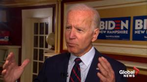 'I did exactly what U.S. policy was' says Biden on Trump's Ukraine allegations