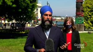 NDP's Singh calls on feds to invest an additional $2B in child care