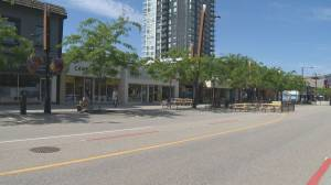 Downtown Kelowna merchants upset they were not consulted about road closure