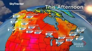 Winnipeg weather outlook: July 22 (01:35)