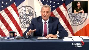 NYC becomes 1st U.S. city to require proof of COVID-19 vaccination to enter restaurants, gyms, indoor businesses (02:31)