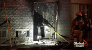 Ontario Fire Marshal investigating fire at Quality Inn in Peterborough (00:44)