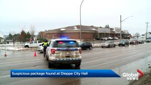 Suspicious package near Dieppe, N.B., city hall prompts police response
