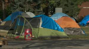 Organizers decide to shut down encampment in Old Strathcona (01:58)