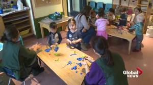 Alberta and Ottawa renew child care agreement, boost subsidy (01:48)