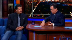 The Late Show: Neil deGrasse Tyson discusses sexual assault allegations with Colbert