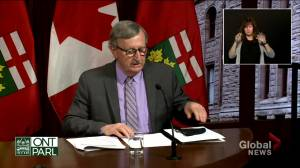 Ontario expands COVID-19 vaccine eligibility to adults 18+ starting Tuesday (01:24)