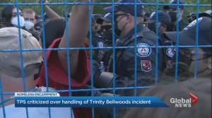 Toronto police criticized over handling of Trinity Bellwoods incident (02:51)