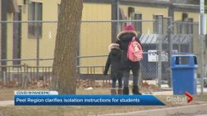 Peel Region recalls flyer suggesting solo self-isolation for children (02:59)