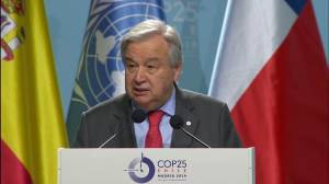 U.N. chief calls for hope over 'surrender' in opening speech at climate summit