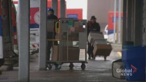 Canadian companies and delivery services brace for online order spike ahead of holiday season (02:07)