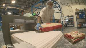 COVID-19 crisis has flour in high demand (01:37)