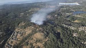 Vancouver Island wildfire points to growing danger (01:59)