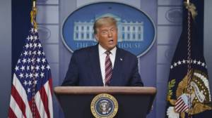 Trump urges lawmakers to ignore will of American voters (01:48)
