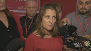 Federal Election 2019: Chrystia Freeland says Ford government wanted retaliatory tariffs lifted