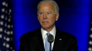 U.S. election: Biden discusses presidential mandates, says he will 'spare no effort' to turn around COVID-19 pandemic (03:10)