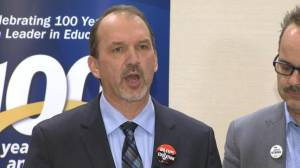 Ontario secondary teachers union announces one-day, province wide walkout