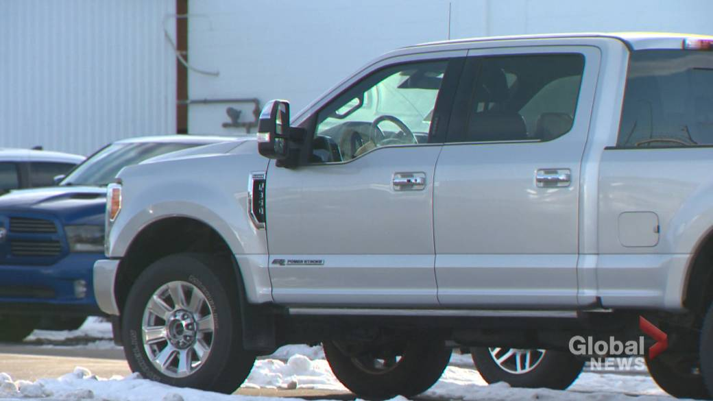 This is the list of the top 10 stolen vehicles in Canada