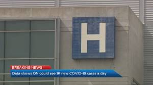 Data shows Ontario could see 1,000 COVID-19 cases a day in October (02:53)