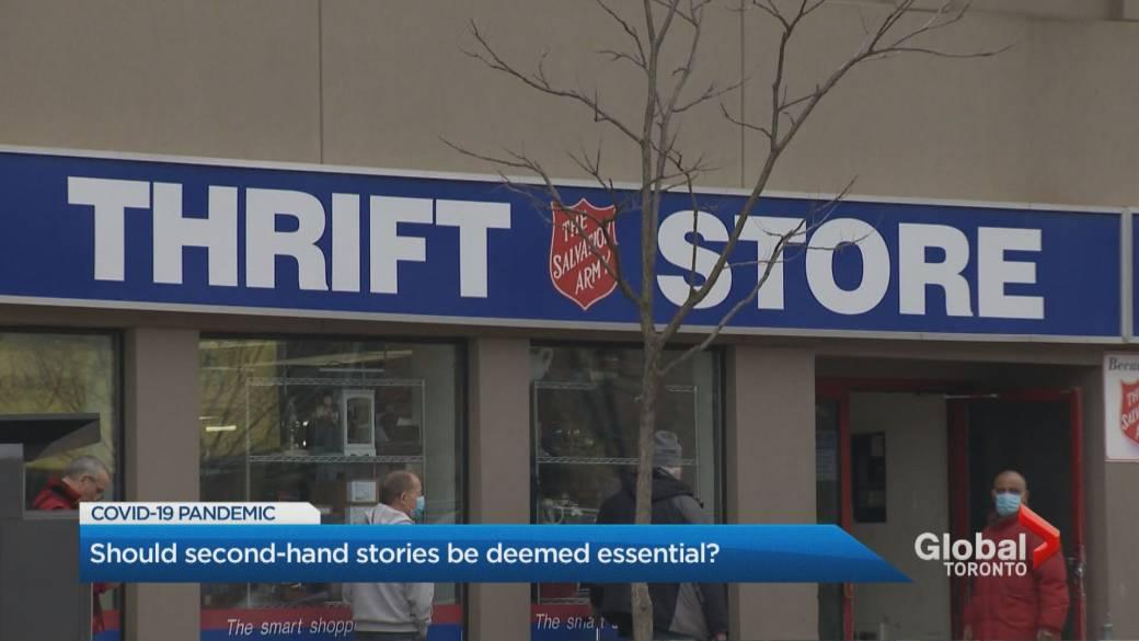 Coronavirus: Should Ontario's second-hand stores be deemed ...