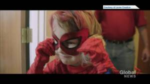 Edmonton's favourite pint-sized superhero 'SpiderMable' heads to the big screen (05:38)