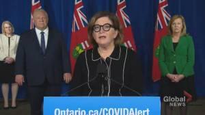 Coronavirus: Yaffe defends lockdown in Toronto, Peel region as necessary (01:36)