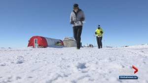 Man in his 80s completes marathon in Antarctica