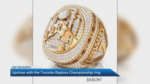 Up close and personal with the Toronto Raptors Championship Ring