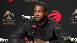 'There are many bright spots with our team': Toronto Raptors President Masai Ujiri