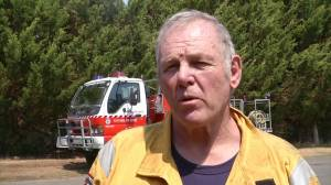Canadian volunteer firefighter speaks about paying own way to fight Australia bushfires