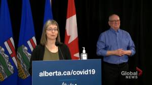 Alberta identifies 1,646 new COVID-19 cases on Thursday (00:38)