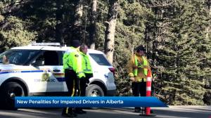 Alberta's new, tougher impaired driving rules in effect Dec. 1 (01:17)