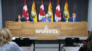 New Brunswick aims to flatten the curve as case counts rise (01:46)