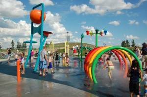 Phased reopening of some Edmonton rec centres, spray parks underway