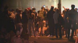 Premier expresses outrage at potential 'super-spreader' events in Vancouver over weekend (02:18)