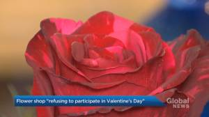 Toronto flower shop refusing to participate in Valentine's Day (01:57)