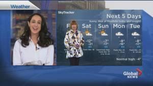 Global News Morning weather forecast: February 12, 2021 (01:47)