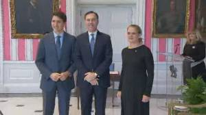 Morneau remains as finance minister as new cabinet sworn in