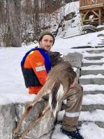 Buckhorn couple saves deer from drowning after falling through ice north of Peterborough