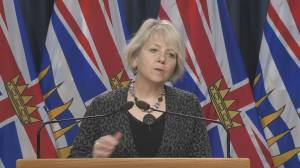 Good news and troubling news in Monday's COVID-19 numbers for B.C. (02:05)
