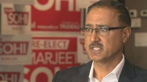 Amarjeet Sohi says Trudeau was 'very sorry' for wearing racist makeup, calls it a 'chance to reflect'